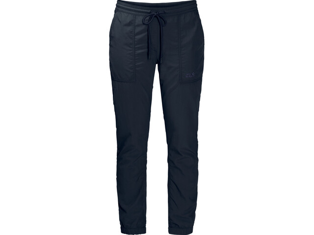 Jack Wolfskin Kalahari Cuffed Pants Damen midnight blue